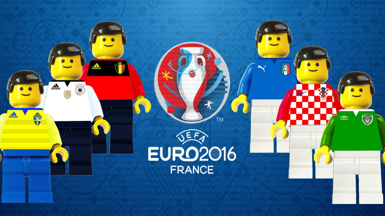 euro 2016 preview france uefa 2016 in lego football youtube