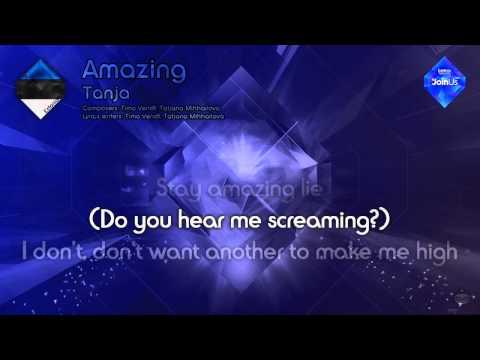 """Tanja - """"Amazing"""" (Estonia) - [Karaoke version]"""