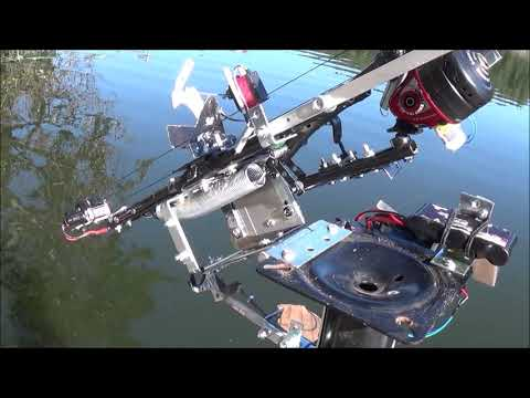 Arduino Powered Robotic Fishing Pole, Auto Casting And Reeling!
