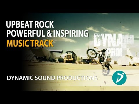 Upbeat Rock Motion - Instrumental Background Music for Videos & Presentations - Royalty Free Music
