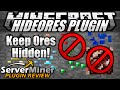 How to make ores harder to find in Minecraft with HideOres Plugin