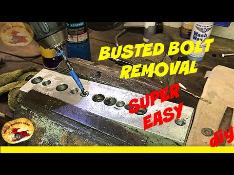 How To Remove a Busted Bolt FAST! New Style Screw Extractors