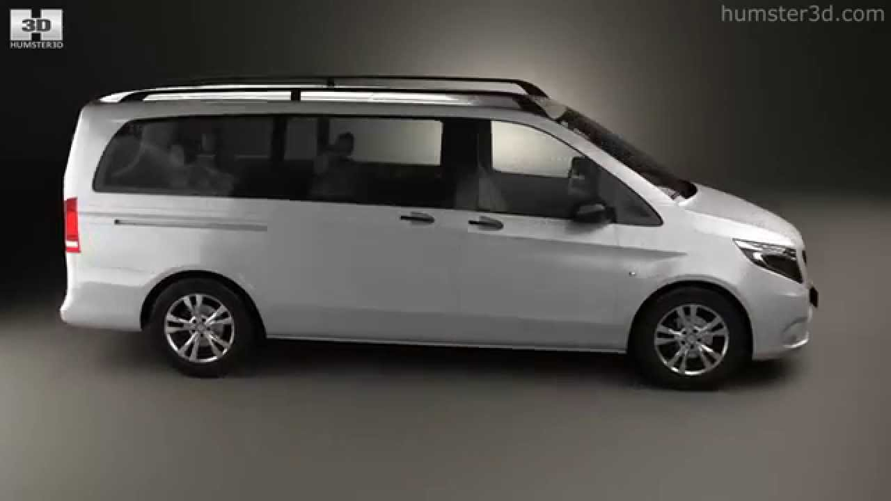 mercedes benz vito tourer select l2 w447 2014 by 3d model store youtube. Black Bedroom Furniture Sets. Home Design Ideas