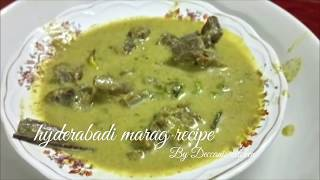 Hyderabadi marag recipe