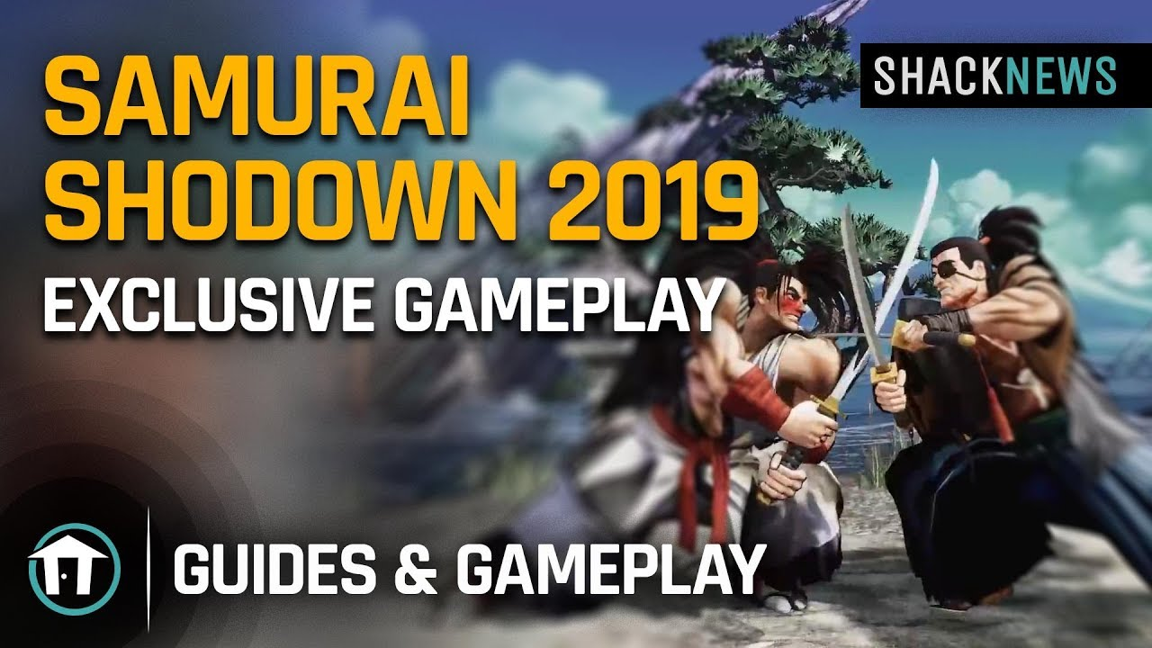 Samurai Shodown 2019 - New Gameplay