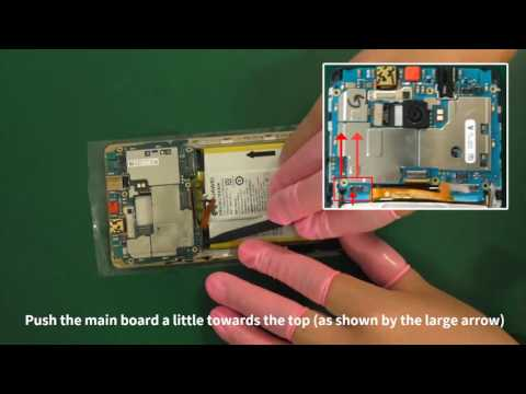 Huawei Mate S (CRR) disassembly tutorial