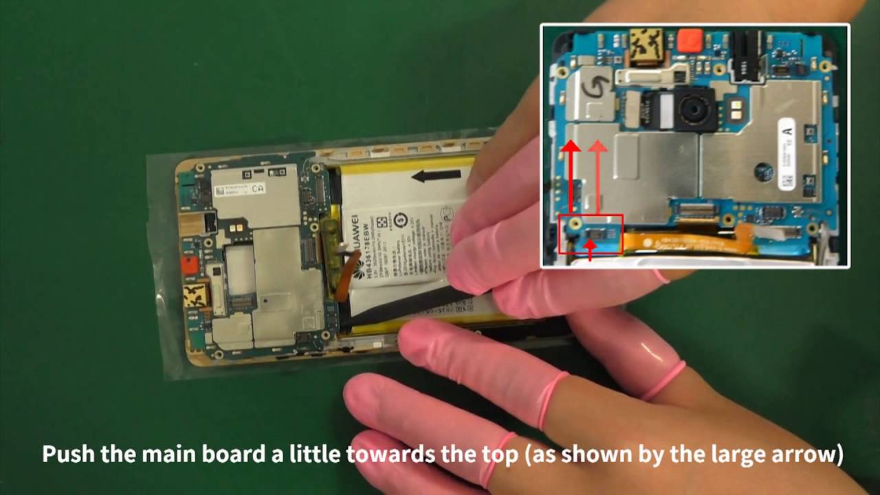 Huawei Mate S Crr Disassembly Tutorial Youtube