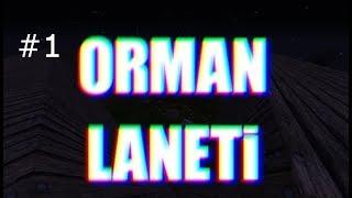 ORMAN LANETİ -MİNECRAFT KORKU HARİTALARI- #1