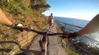 VIA DEL MARE - Framura - (GoPro Hero 4 Silver HD Video)