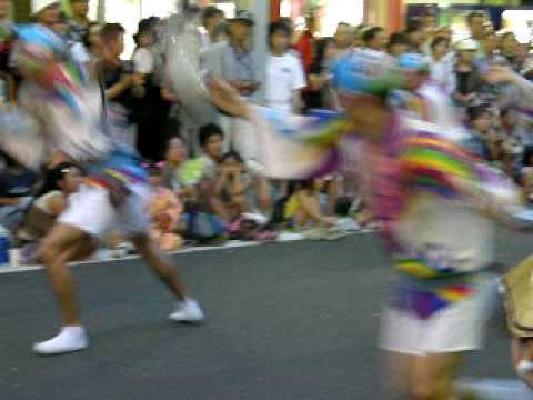 Awa Odori festival in Yamato City,Kanagawa Prefecture.