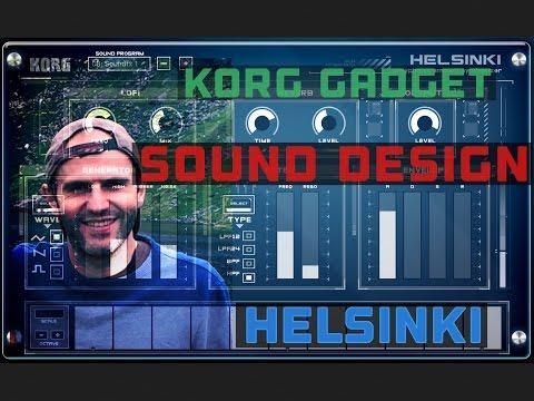 Korg gadget tutorial. sound design helsinki