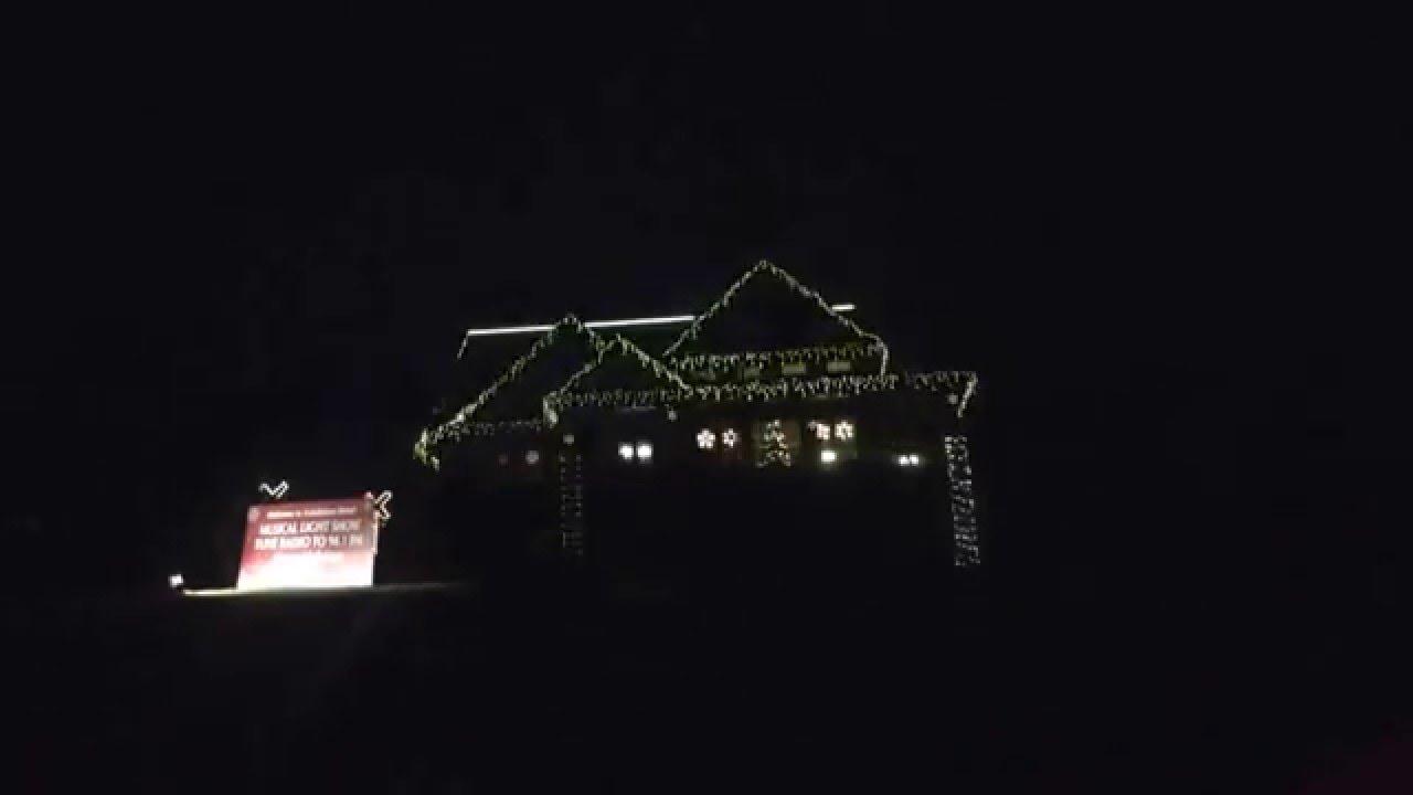 Exhibition Drive Christmas Lights Display.