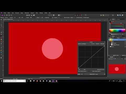 Affinity Photo - Appliquer des filtres aux masques de fusion
