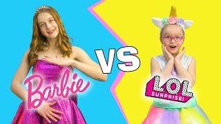 Барби против Куклы ЛОЛ! Кто из кукол лучше?