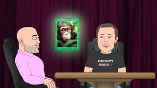 Elon Musk Chimp Moment - JRE Toons