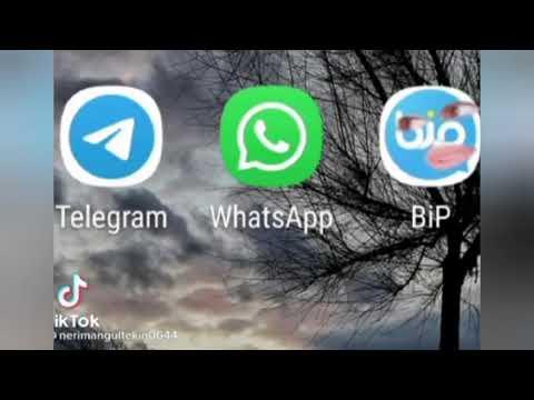 Telegram Ve Bip Whatsapp ile dalga geçti; Whatsapp'ın gözü yaşlı
