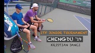 ITF Juniors Tournament (Chengdu 2019)   Kristian's First Main Draw Win (TENFITMEN - Episode 64)