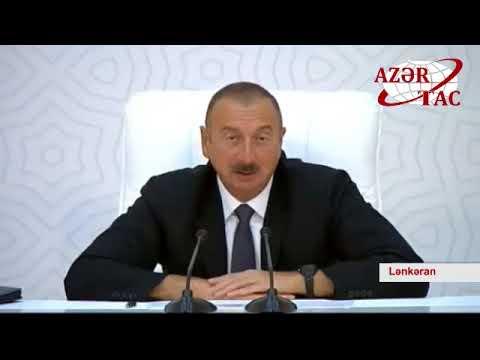 Prezident İlham Əliyevin sədrliyi ilə Lənkəranda  respublika müşavirəsi keçirilib