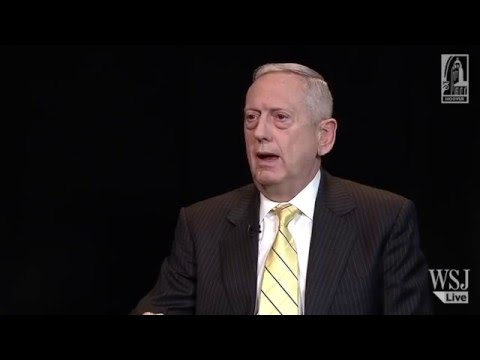 General Jim (Mad Dog) Mattis on the Nature of War