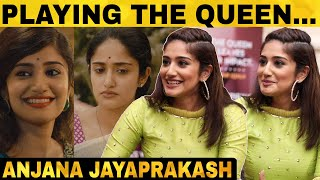 Can't believe the shooting is gone! Queen Anjana Jayaprakash Exclusive | MX Player | Gautham Vasudev