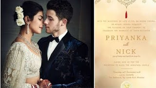 Priyanka and Nick to Host Wedding Reception for Bollywood on December 20