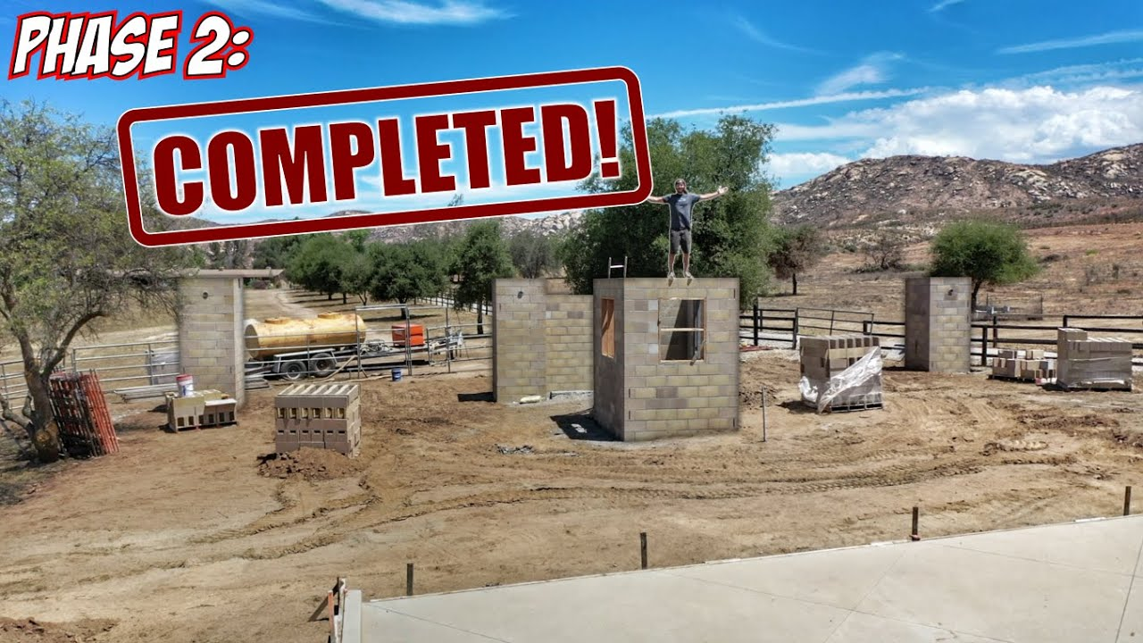 Building the New MASSIVE Entrance to Ryno Ranch! (PART 10)