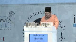 Mohd Yunus Aminuddin, 3.Oturum, 5.Bediüzzaman ve Risale-i Nur Sempozyumu