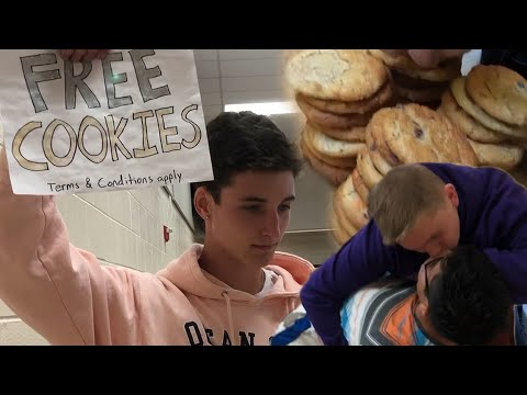 Buying EVERY COOKIE During Lunch.