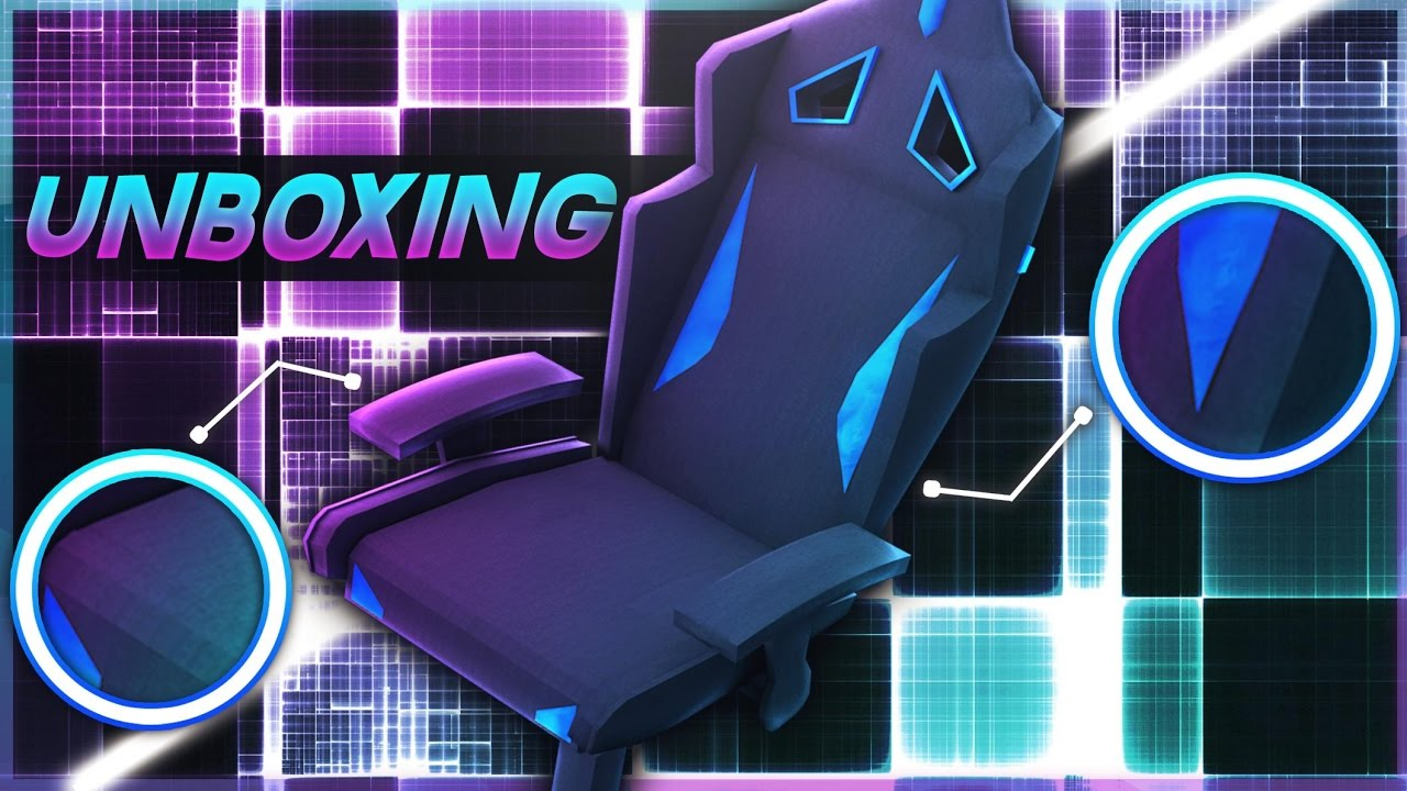 Unboxing de la meilleure chaise gaming youtube for Chaise youtubeur