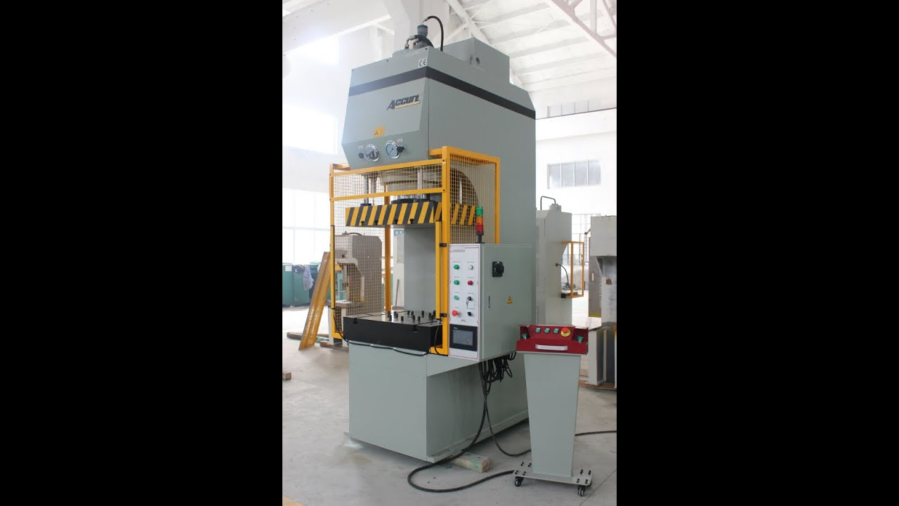 C Frame Fast Speed Hydraulic Punching Press HBP-160T / C frame ...
