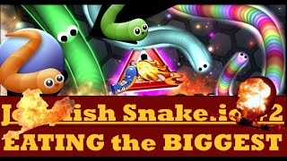 Slither.io #2- BASIC MOVES to get #1