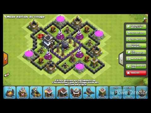 Village hdv 9 sans arc x mais avec tour a bombe