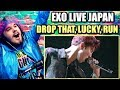 """EXO """"DROP THAT, KEEP ON DANCING, LUCKY, RUN"""" IN JAPAN   REACTION!!"""
