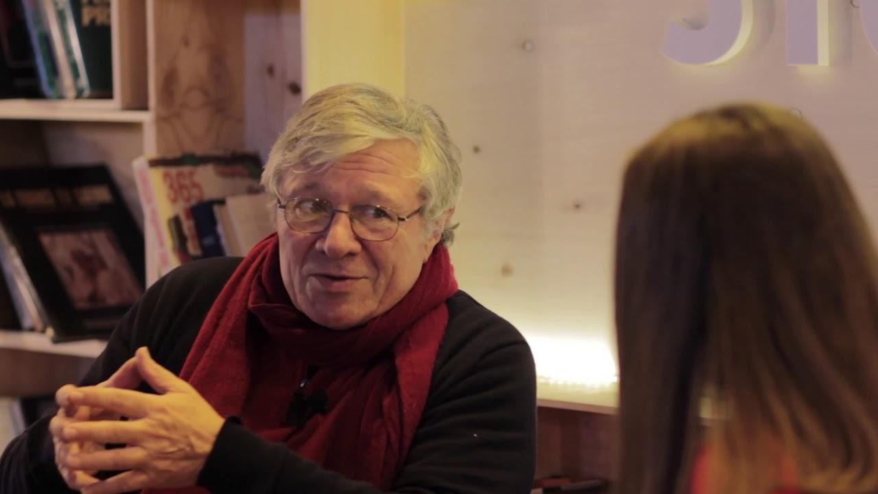 Les foulées littéraires 2018 - interview de Michel Itturia