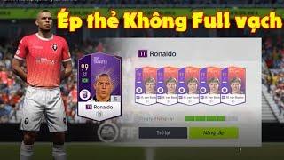 FIFA ONLINE 4, Tổng hợp những pha ép thẻ Cộng 5 không cần full vạch với Ronaldo béo
