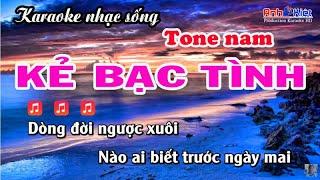 Karaoke   Kẻ Bạc Tình   Phong Cách   Châu Gia Kiệt   BEAT   Karaoke Nhạc Sống Anh Kiệt