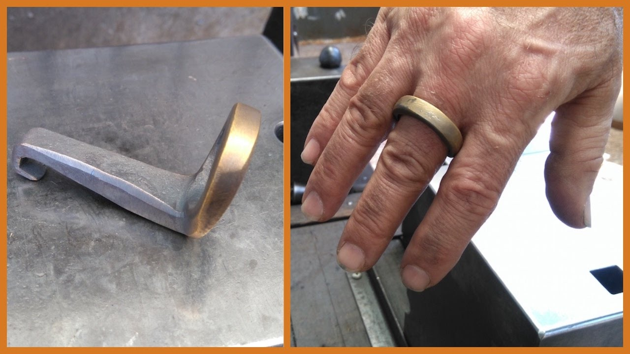 blacksmith finger ring bottle opener hidden youtube. Black Bedroom Furniture Sets. Home Design Ideas