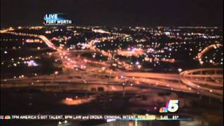 UFO on Fort Worth, Texas, KXAS webcam