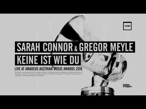 Sarah Connor & Gregor Meyle bei den Amadeus Austrian Music Awards 2016
