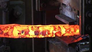 L'acier Damas | Explications et démonstration par le forgeron Christian Penot