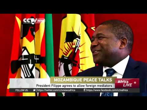 Mozambique's President  agrees to allow foreign mediators
