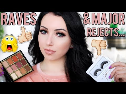 APRIL RAVES & REJECTS! Foundation, Gradual Tanner for Fair Skin, Drugstore Eyeshadow Palette & More