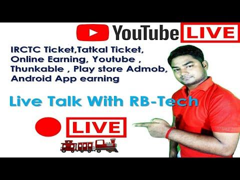 Live Talk IRCTC Ticket,Tatkal Ticket,Thunkable ,Android App
