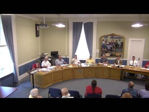 City of Plattsburgh, NY Meeting  7-20-17
