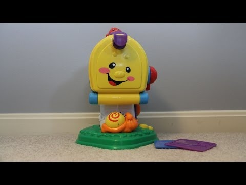 Fisher Price Learning Mailbox - Model N8770