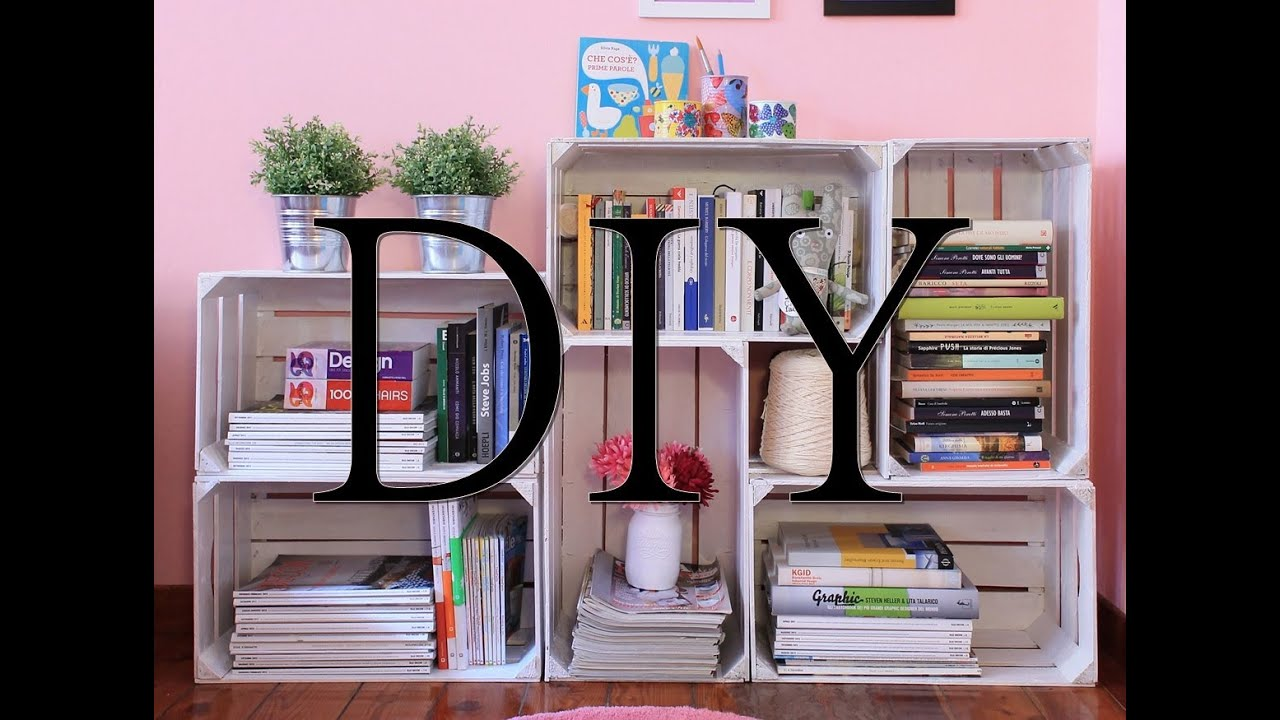 Diy tutorial come creare una libreria fai da te con le for Mensola a scomparsa fai da te
