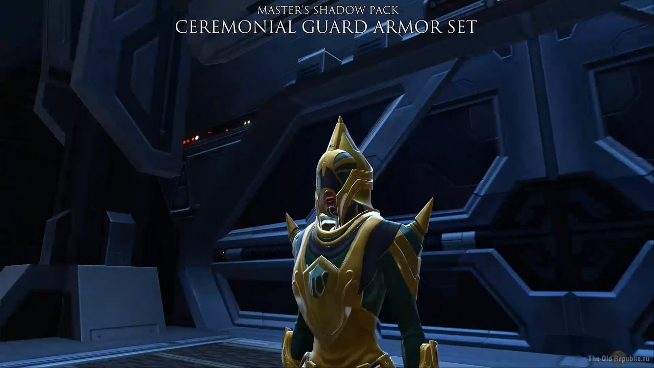 Ceremonial Guard Armor Set Masters Shadow Pack Youtube