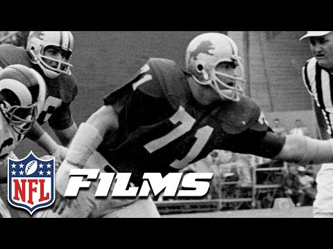 8 Alex Karras  NFL Films  Top 10 Players Not in the Hall of Fame