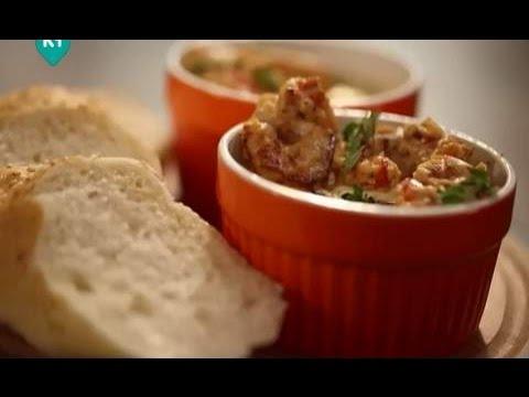 Печеная яичница с креветками рецепты счастья новая история