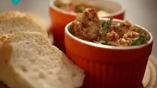 Печеная яичница с креветками. Рецепты счастья: новая история